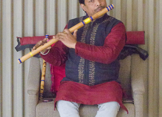 This flute player in Agra is one of the last who can still demonstrate the ancient melodies of Hindu ragas.