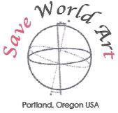Save World Art Logo
