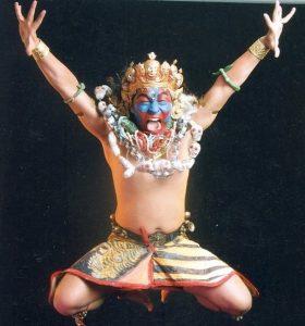 Nepal dancer